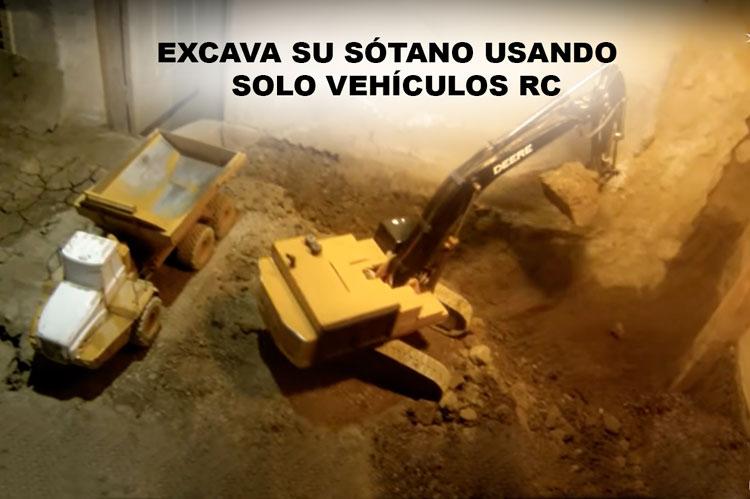 excava-su-sotano-usando-solo-vehiculos-rc-teledirigidos-radiocontrolers
