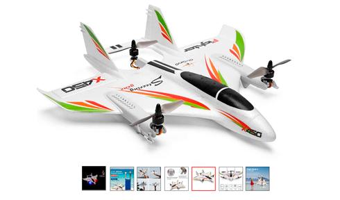 mejores-aviones-rc-teledirigidos-WLToys-XK-X450
